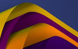 Abstract colored background from folded pages.3d rendering stock photos