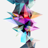 Abstract colored background royalty free illustration