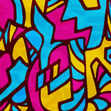 Abstract colored background of graffiti beautiful polygons. Vector eps 10 Stock Images