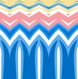 Abstract colored background. Horizontally seamless pattern Royalty Free Stock Photos