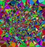 Color patterned background Stock Image