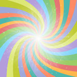 Abstract colored background with light rays. Vector Illustration Stock Images