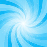 Abstract colored background with light rays. Vector Illustration Stock Image