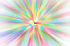 Abstract colored background radius blur Royalty Free Stock Photography