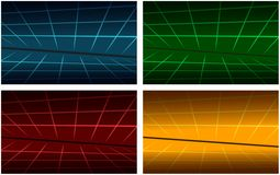 Abstract colored background sets Royalty Free Stock Photography
