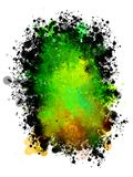 Abstract colored background of spray paint. Royalty Free Stock Image
