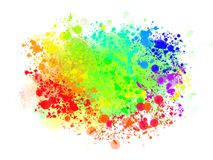 Abstract colored background of spray paint. Stock Image