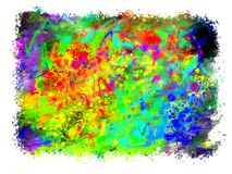 Abstract colored background of spray paint. Royalty Free Stock Photography