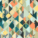 Abstract colored background, triangle design Stock Image