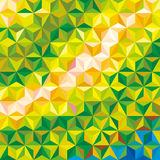 Abstract colored background. Triangular geometric style Stock Images