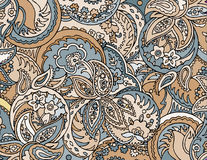 Abstract colored background from a variety of patterns. Vector Royalty Free Stock Photo