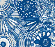 Abstract colored background from a variety of patterns. Stock Photos