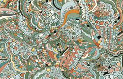 Abstract colored background from a variety of patterns. Royalty Free Stock Photo