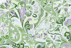 Abstract colored background from a variety of patterns. Vector Royalty Free Stock Image