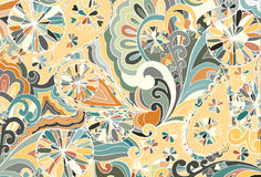 Abstract colored background from a variety of patterns Stock Photography
