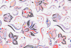 Abstract colored background from a variety of patterns. Vector Royalty Free Stock Photography