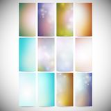 Abstract Colored Backgrounds set. Modern vertical. Modern banners, abstract banner design, business design and website templates vector Vector Illustration