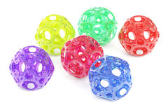 Abstract colored balls Royalty Free Stock Image