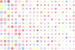 Abstract colored circles, bubbles, sphere or ellipses shape pattern. Style, messy, effect & details. Abstract colored circles, bubbles, sphere or ellipses shape Stock Photo