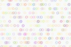 Abstract colored circles or ellipses shape pattern. White, illustration, design & art. Abstract colored circles or ellipses shape pattern. Good for web page Royalty Free Stock Photography