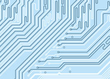 Abstract Colored Circuit Background Stock Photos