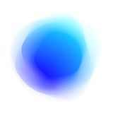 Abstract Colored Form Stock Image