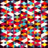 Abstract colored geometric elements. vector illustration Royalty Free Stock Photos