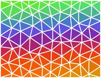 Abstract colored geometric low polygonal background Stock Images