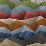 Abstract colored geometric pattern. Vector background Stock Photography