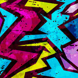 Abstract colored graffiti background. Vector eps 10 Royalty Free Stock Image