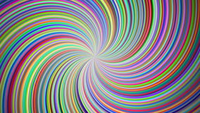 Abstract colored hypnotic swirl background stock video footage