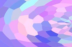 Abstract colored illustration. Art mixed rainbow royalty free illustration