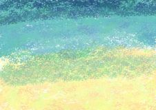 Abstract colored illustration. Brush strokes background stock image