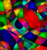 Abstract colored image background. Abstract colored background image consisting of lines Royalty Free Stock Photos