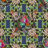 Abstract colored picture. Abstract colored interesting superb picture stock illustration