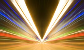 Abstract colored light Royalty Free Stock Images