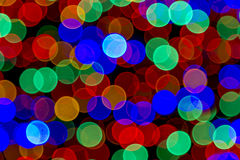 Abstract Colored Lights Bokeh Background Royalty Free Stock Images