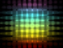 Abstract colored lines Royalty Free Stock Image