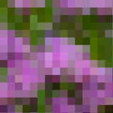 Abstract colored mosaic background Stock Image