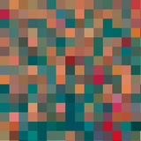 Abstract colored mosaic background Royalty Free Stock Images