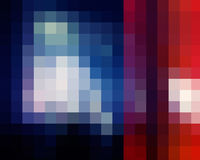 Abstract colored mosaic background Stock Photos