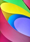 Abstract colored paper Stock Images