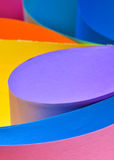 Abstract colored paper Royalty Free Stock Image