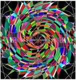 Abstract colored pattern Royalty Free Stock Images