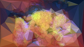 Abstract colored polygonal triangular mosaic background. 3d rendering. Abstract colored polygonal mosaic background, triangular geometric style. 3d rendering stock illustration