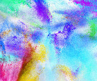 Abstract colored powder background Royalty Free Stock Image