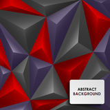 Abstract colored pyramid background Royalty Free Stock Images