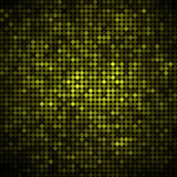 Abstract colored round dots background. Green stock illustration