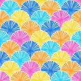 Abstract colored seamless pattern. Vector Royalty Free Stock Photos