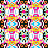 Abstract colored seamless pattern for your design Stock Photos